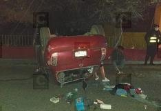 Conductor se habría quedado dormido y causa accidente dejando heridos y sin energía eléctrica en Tacna