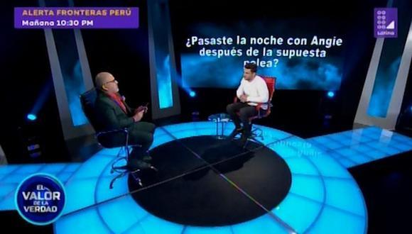 Nicola Porcella confiesa que pasó la noche con Angie Arizaga tras la supuesta pelea (VIDEO)