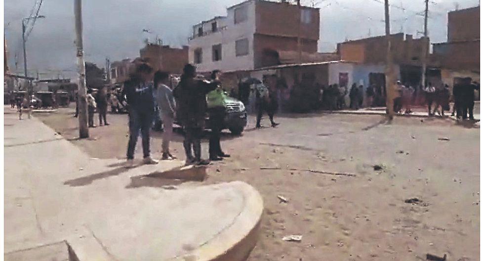 Cuatro heridos en gresca de gremios por cupos en obra