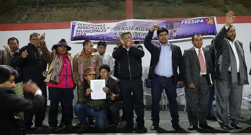 Debate de candidatos regionales a Apurímac se realizó en Andahuaylas