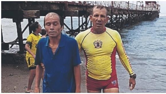 Tres bañistas se salvan de morir en playas de Trujillo