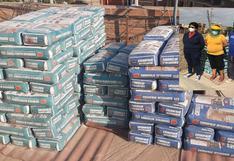 Ica: Detienen a banda que vendía cemento adulterado