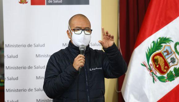 """Zamora indicó que protocolo para el reinicio de aerolíneas saldría """"durante esta semana"""". (Foto: Fernando Sangama / GEC)"""