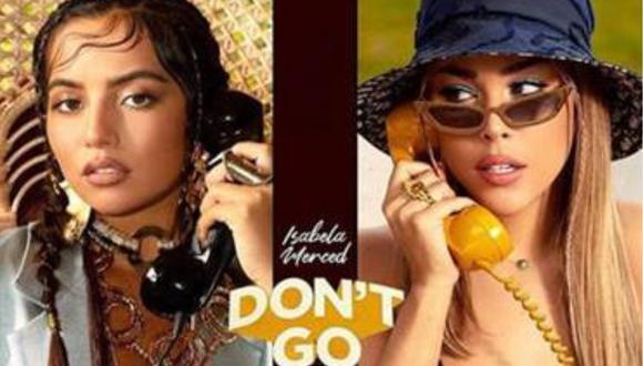 "Isabela Merced se une a Danna Paola en el tema ""Don't Go"". (Foto: @isabelamerced)"