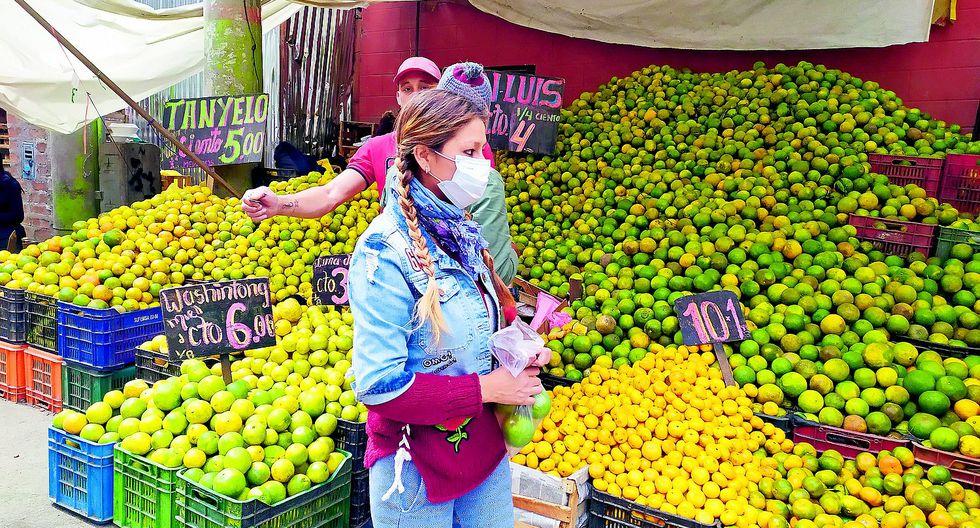 Los cítricos se encuentran entre las frutas más caras de Junín