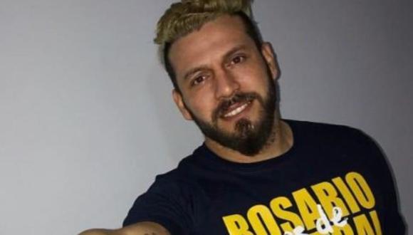 El portero Jorge 'Fatura' Broun dejó impresionados a todos por su insólito tatuaje. (Foto: Twitter TyC Sports)