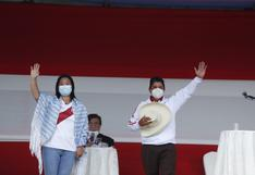 Pedro Castillo obtiene 36.2% de preferencias y Keiko Fujimori obtiene un 30%, según encuesta del IEP