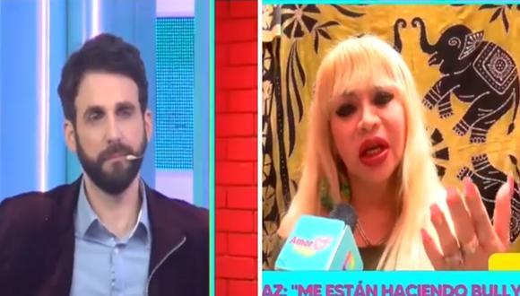 Rodrigo Gonzalez estuvo de acuerdo con Susy Díaz se aleje un tiempo de la televisión. (Foto: Captura Willax TV).