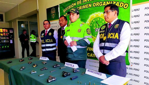 Policías continúan incautando armas de fuego sin documentación en regla