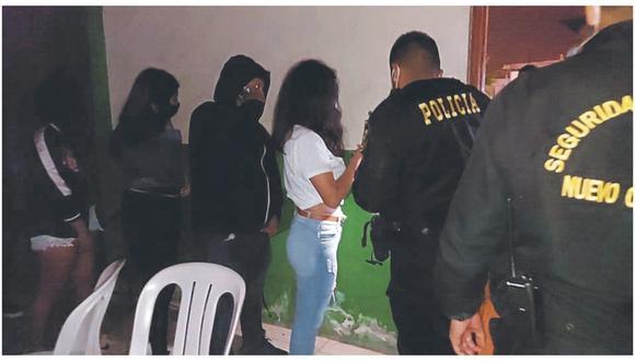 En inmueble de A.H. Villa del Sur se realizaba fiesta clandestina sin importar restricciones sanitarias.