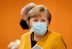 Merkel recibe su primera dosis de vacuna AstraZeneca contra el coronavirus