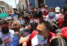 Se registraron enfrentamientos de colectivos en contra de la llegada de Evo Morales