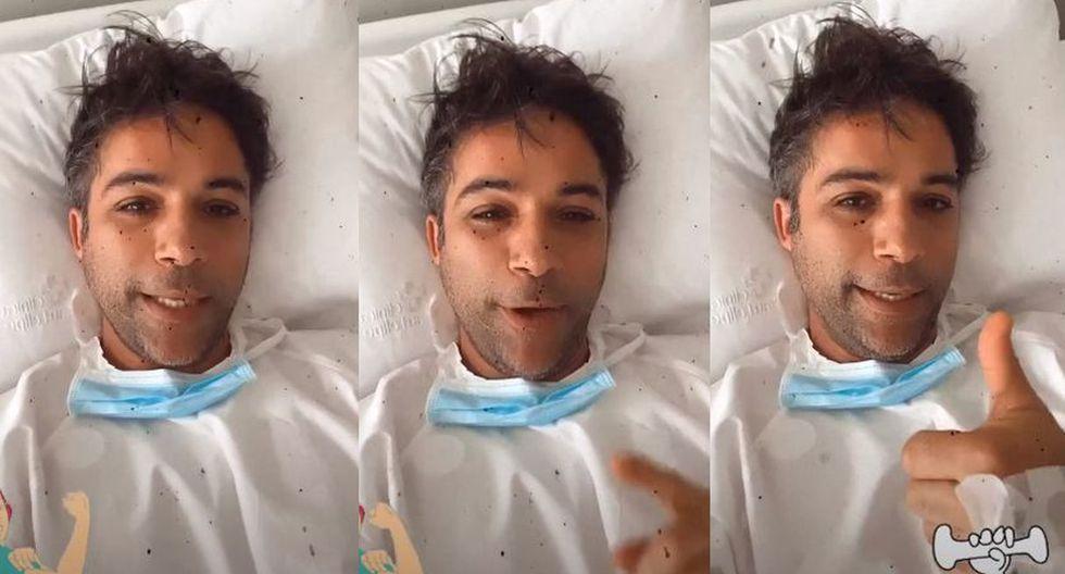 Renzo Schuller será dado de alta tras salir bien de su operación (VIDEO)