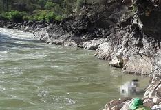 Río Mantaro devuelve pierna de chófer desaparecido