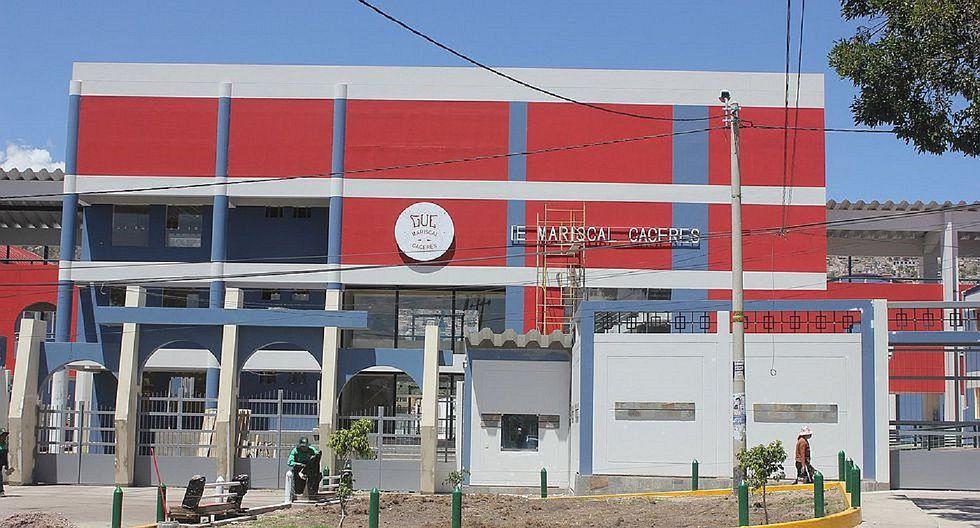 Tres escolares del Mariscal Cáceres viven drama tras dar positivo al Covid-19
