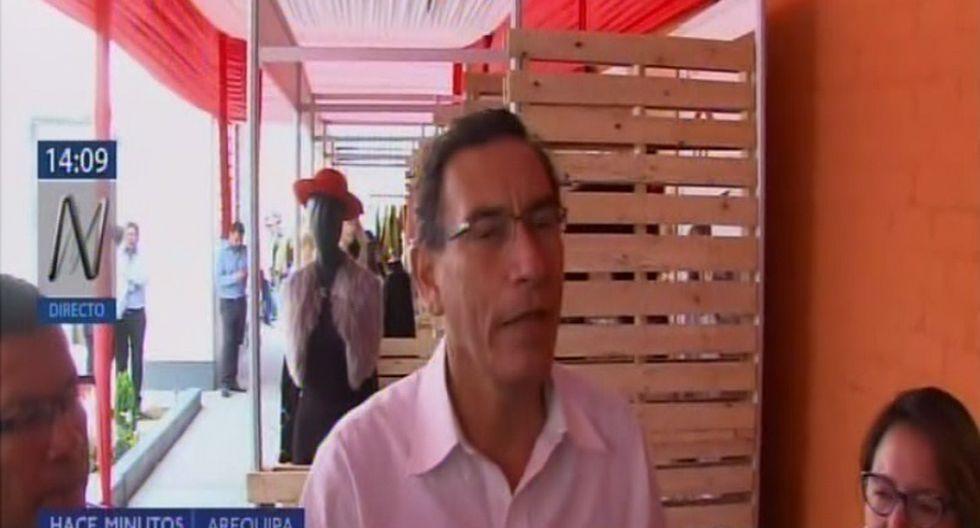 Vizcarra sobre Odebrecht: Expertos peruanos sustentarán adecuadamente tras demanda ante CIADI