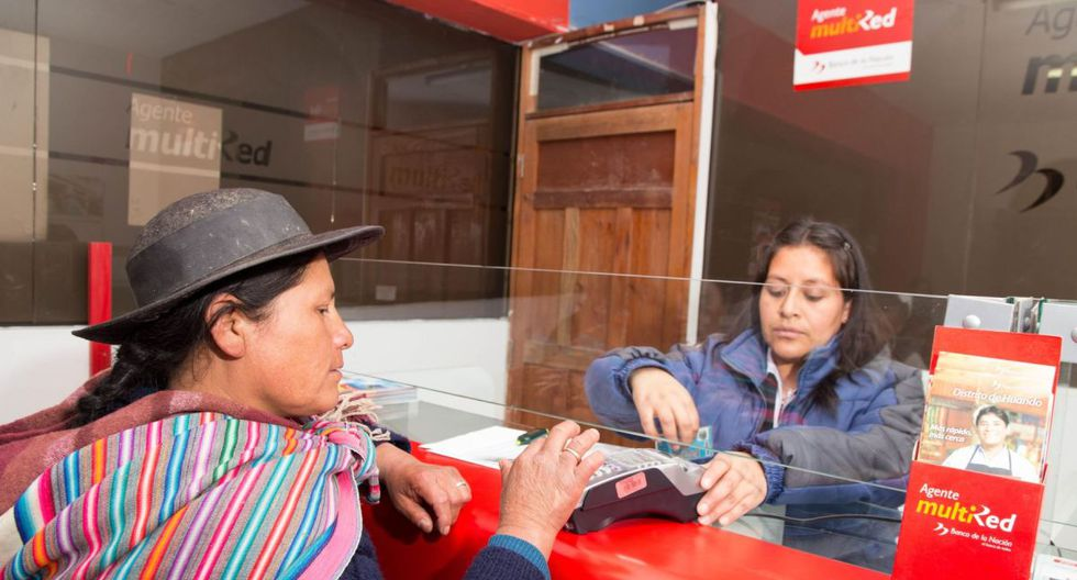 El bono equivale a dos bono de S/ 380 que reciben los hogares de las zonas urbanas (Foto: Andina)