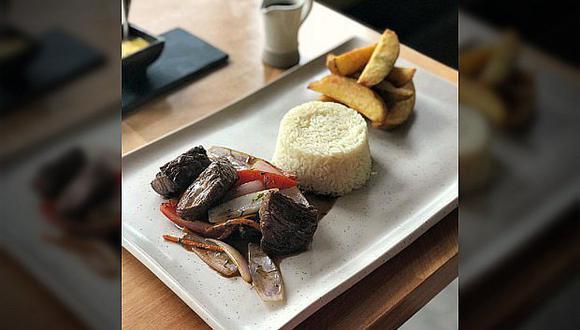Restaurant que vende lomo saltado a S/.65 responde críticas (FOTOS)