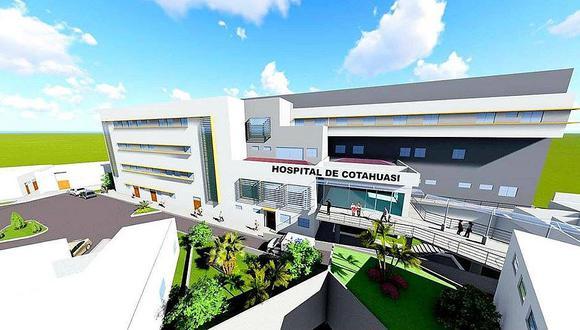 Aún no hay fecha de inicio para reiniciar construcción del hospital Cotahuasi