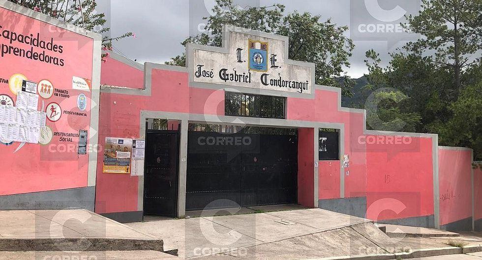 Roban computadoras y otros objetos de colegio en Carmen Alto