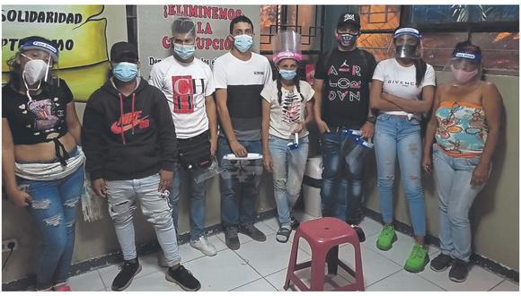Viajaban 22 ciudadanos de nacionalidad venezolana, dos colombianas y una ecuatoriana.