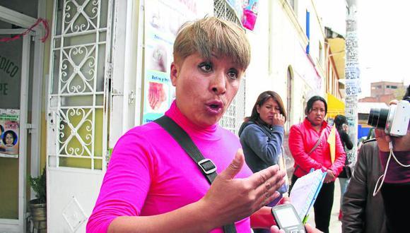"""""Tía Rita"""" emplaza a alcalde de Huancayo a cumplir sus compromisos con ambulantes"