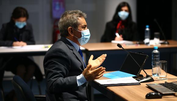 La JNJ decidió suspender por seis meses de su cargo como fiscal supremo a Tomás Gálvez. La votación fue unánime por sus presuntos vínculos con Los Cuellos Blancos del Puerto (FOTO: GEC)