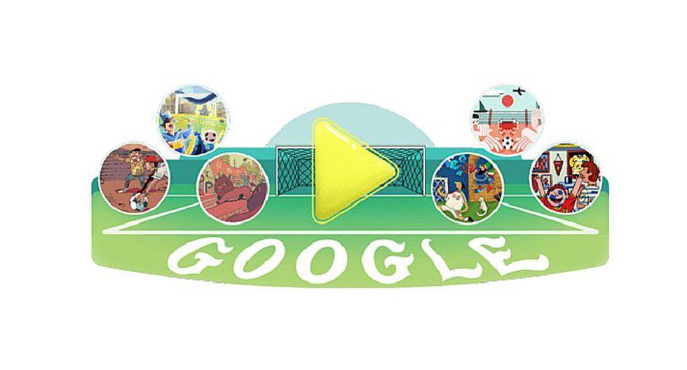 Google festeja Rusia 2018 con originales doodles