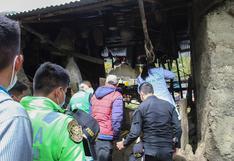 Huánuco: cuatro integrantes de una familia mueren por derrumbe de vivienda en Pachitea