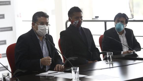 Asimismo señaló que colaborarán en las investigaciones del Ministerio Público. (Foto: Francisco Neyra / GEC)
