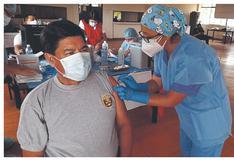 Tumbes: 1,170 dosis llegan para vacunar a policías