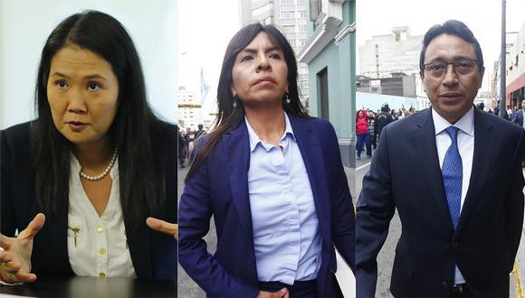 Abogados de Keiko Fujimori y otros investigados piden audiencia de no más de 8 horas