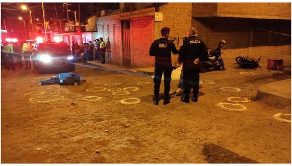 Facinerosos llegaron bien armados y dispararon a quemarropa a ciudadanos venezolanos que se encontraban en la urbanización Las Palmeras del Valle. En el ataque también resultaron heridos dos personas más. (Foto: Alonso Gordillo)