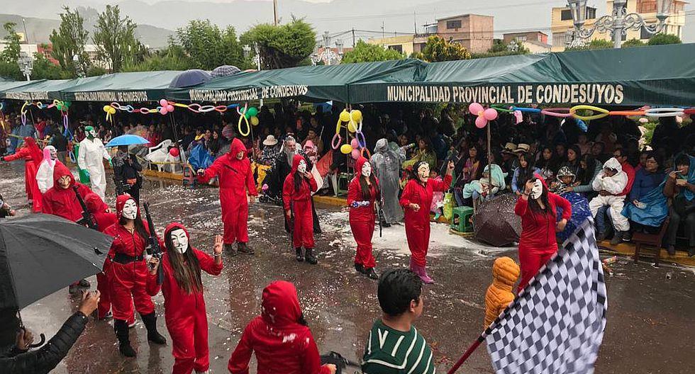 Aumenta turismo en Chuquibamba por fiestas de carnavales