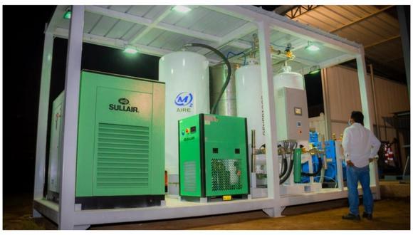 Moderno equipo se adquirió con recursos entregados por la Caja Trujillo. Es la segunda planta de oxígeno que llega a la ciudad.