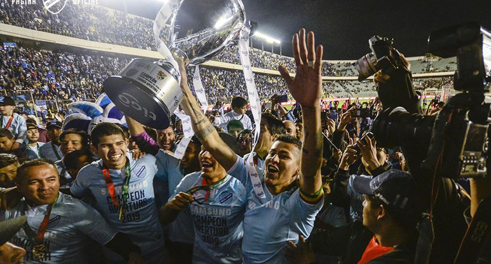 Boliva, campeón del Torneo Apertura de Bolivia (Foto: Club Bolivar)