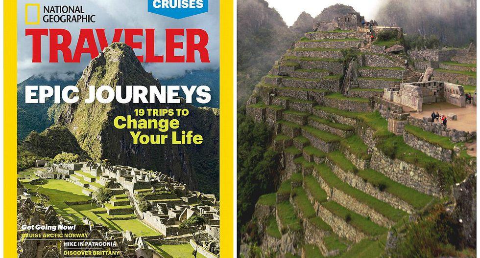 Machu Picchu deslumbra en la portada de National Geographic