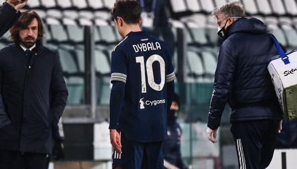 Paulo Dybala se perderá el choque ante Inter de Milán y algunos partidos más. (Foto: AFP)