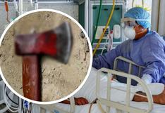 Mujer es hospitalizada tras ser atacada con un hacha por su pareja en Cusco