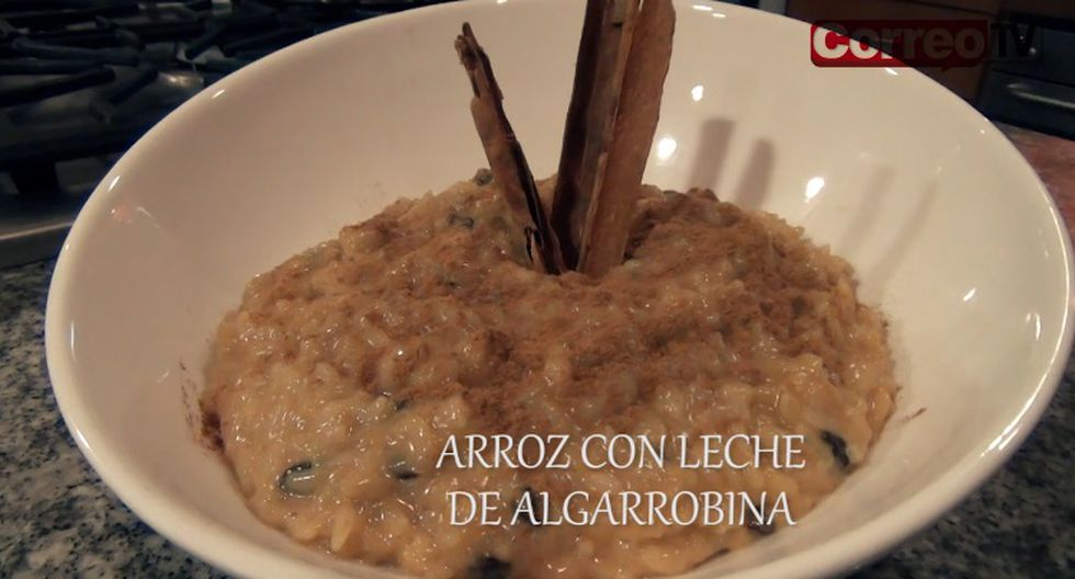 Receta: Así se prepara un dulce arroz con leche de algarrobina (VIDEO)