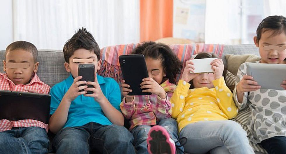 Menos celulares y más actividades al aire libre para que  los niños no dependan de la tecnología