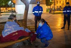 """Cercado de Lima: Con programa """"Volver a Casa"""" rescatan a personas que pernoctan en la calle"""