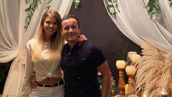 Brunella Horna y Richard Acuña llevan una relación de más de 3 años. Ambos piensan en tener una familia, pero por ahora no. (Foto: Instagram / @brunehorna).
