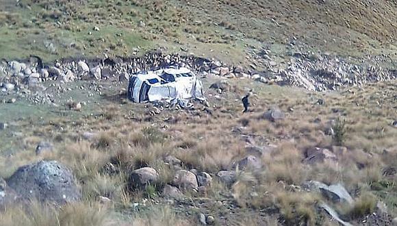 Un fallecido y cuatro heridos en otro fatal accidente de tránsito