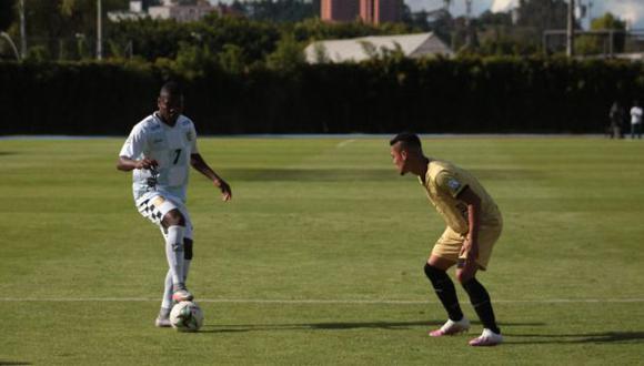Águilas Doradas se presentó con 7 jugadores el choque ante Boyacá Chicó. (Foto: Águilas Doradas)