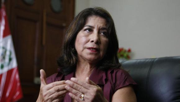"""Martha Chávez adelantó que habrá una """"fiscalización muy aguda"""" al Ejecutivo sobre los gastos por coronavirus. Foto: GEC"""
