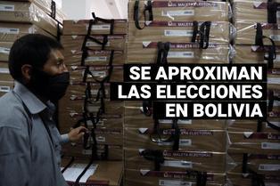 Este 18 de octubre serán las elecciones presidenciales en Bolivia