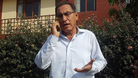 """Martín Vizcarra: """"Proyecto Pasto Grande se queda en Moquegua"""""""