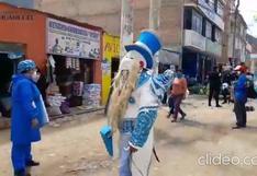 Con trajes típicos sensibilizan a la población de Huánuco para protegerse del COVID-19 (VIDEO)