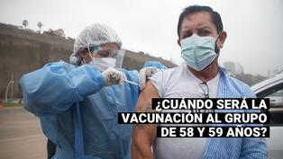 Vacuna contra el COVID-19 para adultos de 58 y 59 años: ¿Cuándo iniciaría la inmunización a este grupo?
